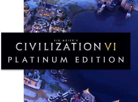 Civilization VI: Platinum Edition (Steam) @Humble Bundle