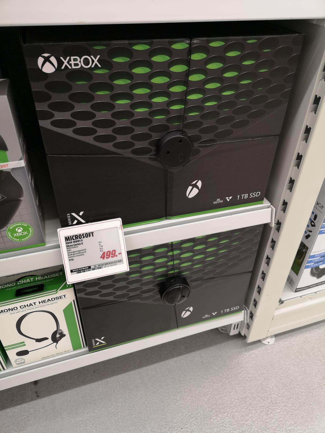 Xbox Series X @MediaMarkt Groningen Centrum
