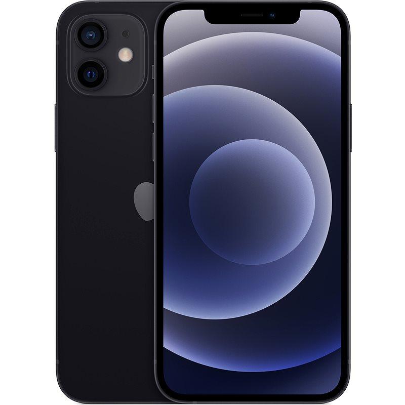Apple iPhone 12 (64 GB) - Zwart