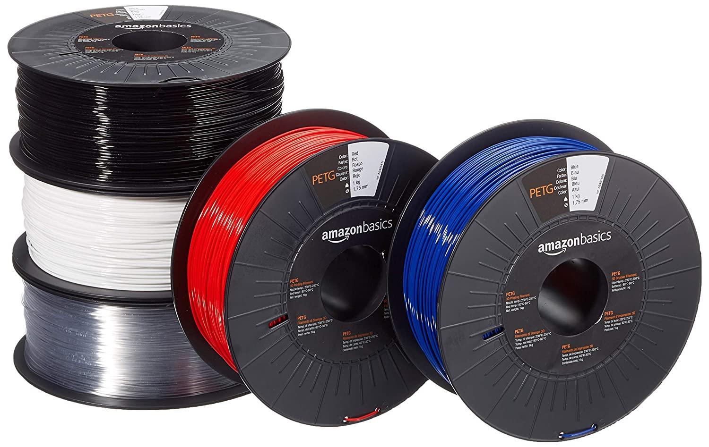 Amazon Basics PETG 5x1kg filament 1.75mm (prime only)