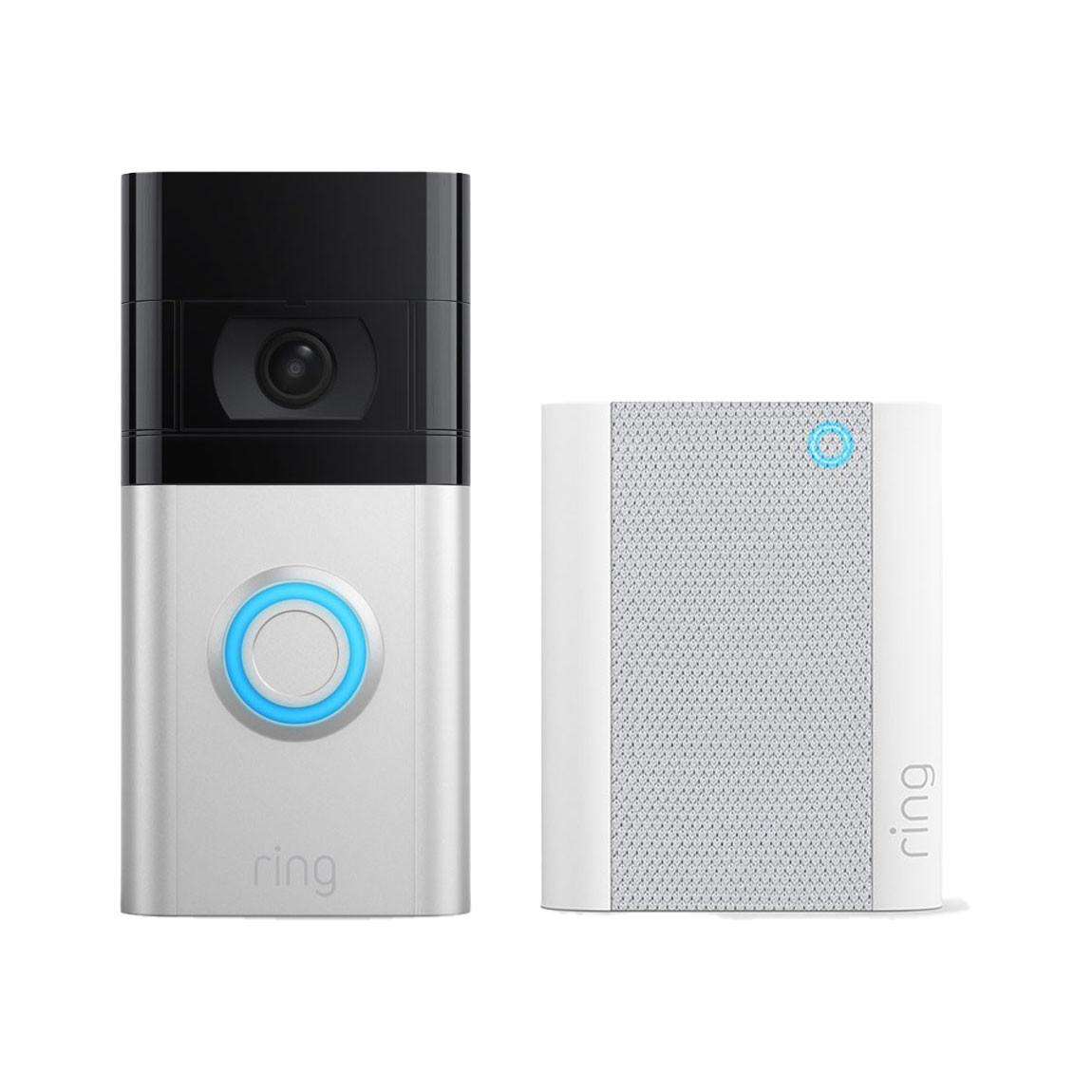 Ring Video Doorbell 4 + Chime Gen. 2 voor €204,95 @ tink