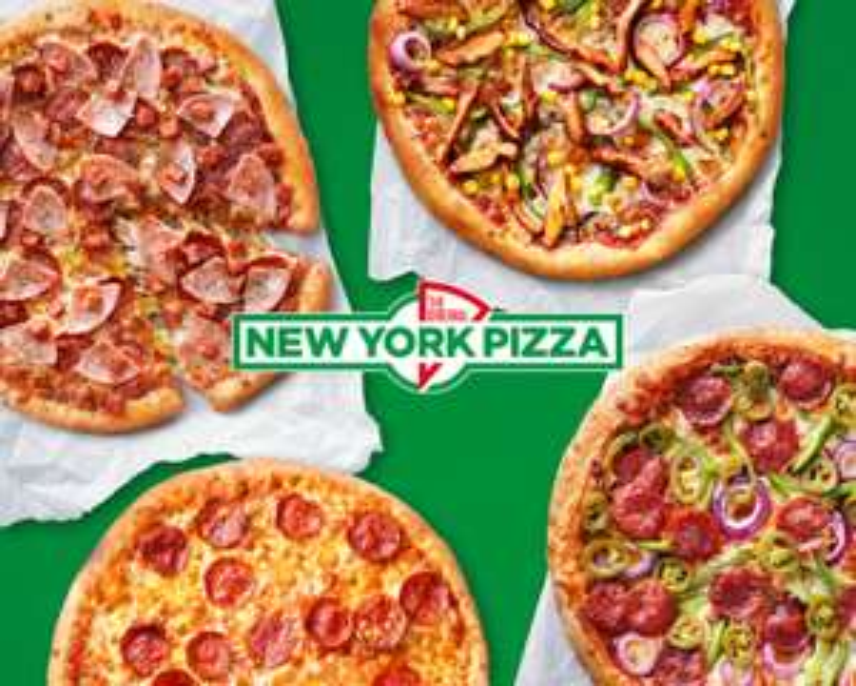 New York Pizza 1+1 Gratis