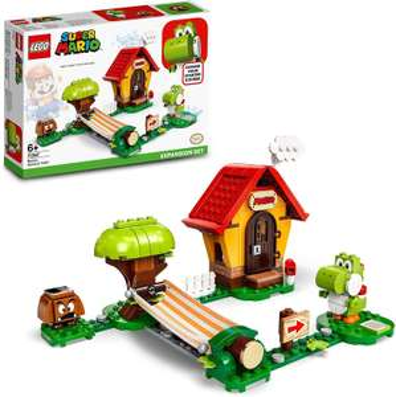 Lego Super Mario uitbreidingsset: Mario's Huis & Yoshi (71367) @Amazon UK
