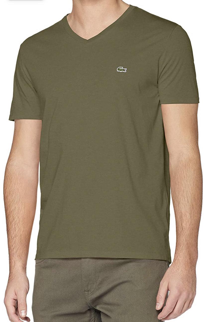 Lacoste T-shirt heren kleur groen maat XS