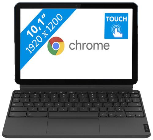 Lenovo IdeaPad Duet Chromebook 128GB mèt pen, bij Coolblue (ZA6F0063NL)
