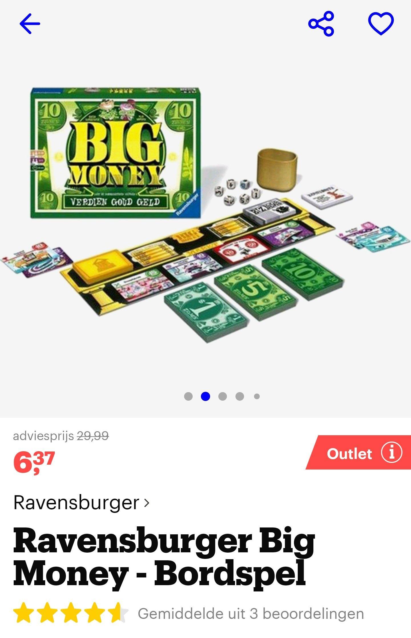 Ravensburger Big Money bordspel