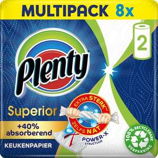 Plenty Superior keukenpapier - 16 stuk(s)