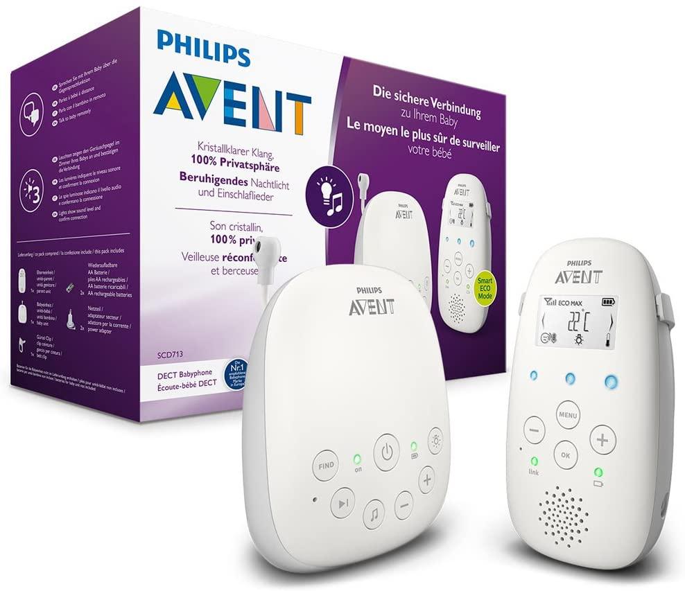PHILIPS Avent SCD713/26- DECT-babyfoon @ Amazon.nl
