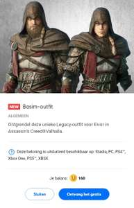 Gratis Basim-outfit voor Eivor in Assassin's Creed®Valhalla (Stadia, PC, PS4, Xbox One, PS5, XBSX)