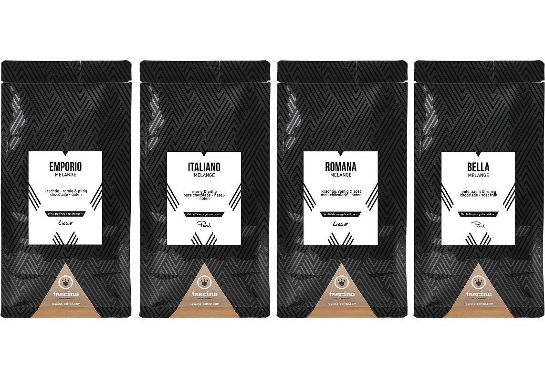 Espressobonen proefpakket Fascino