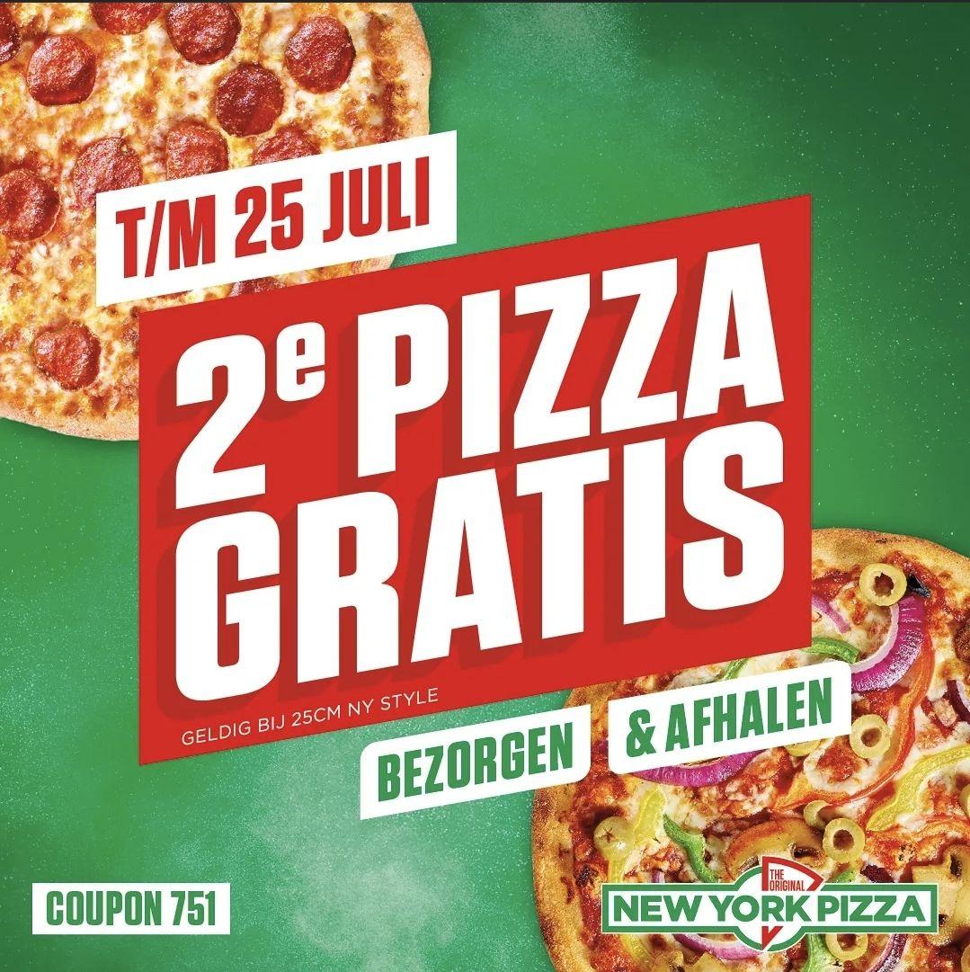 New York Pizza 1+1
