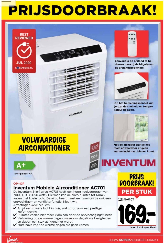 [Vomar] Inventum airconditioner