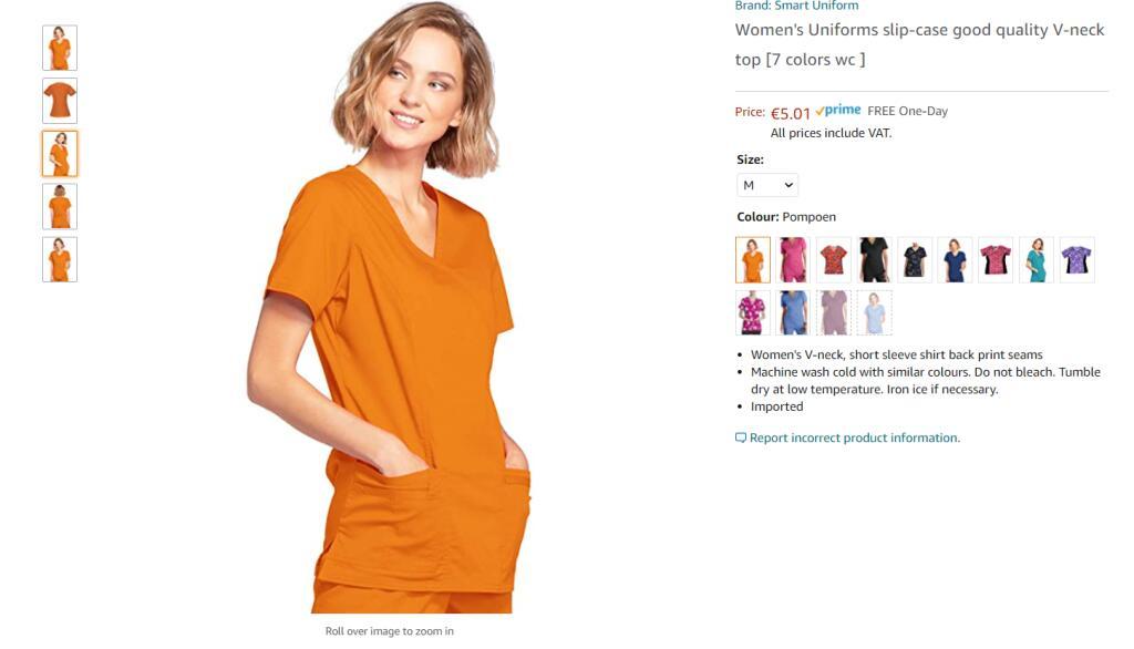 EK oranje outfit maat M (Prime)