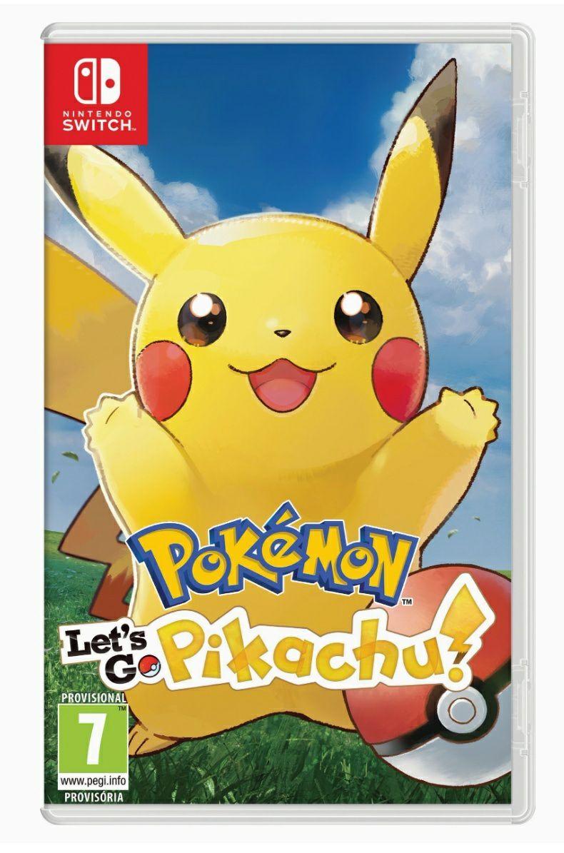 Pokémon: Let's Go, Pikachu! Switch