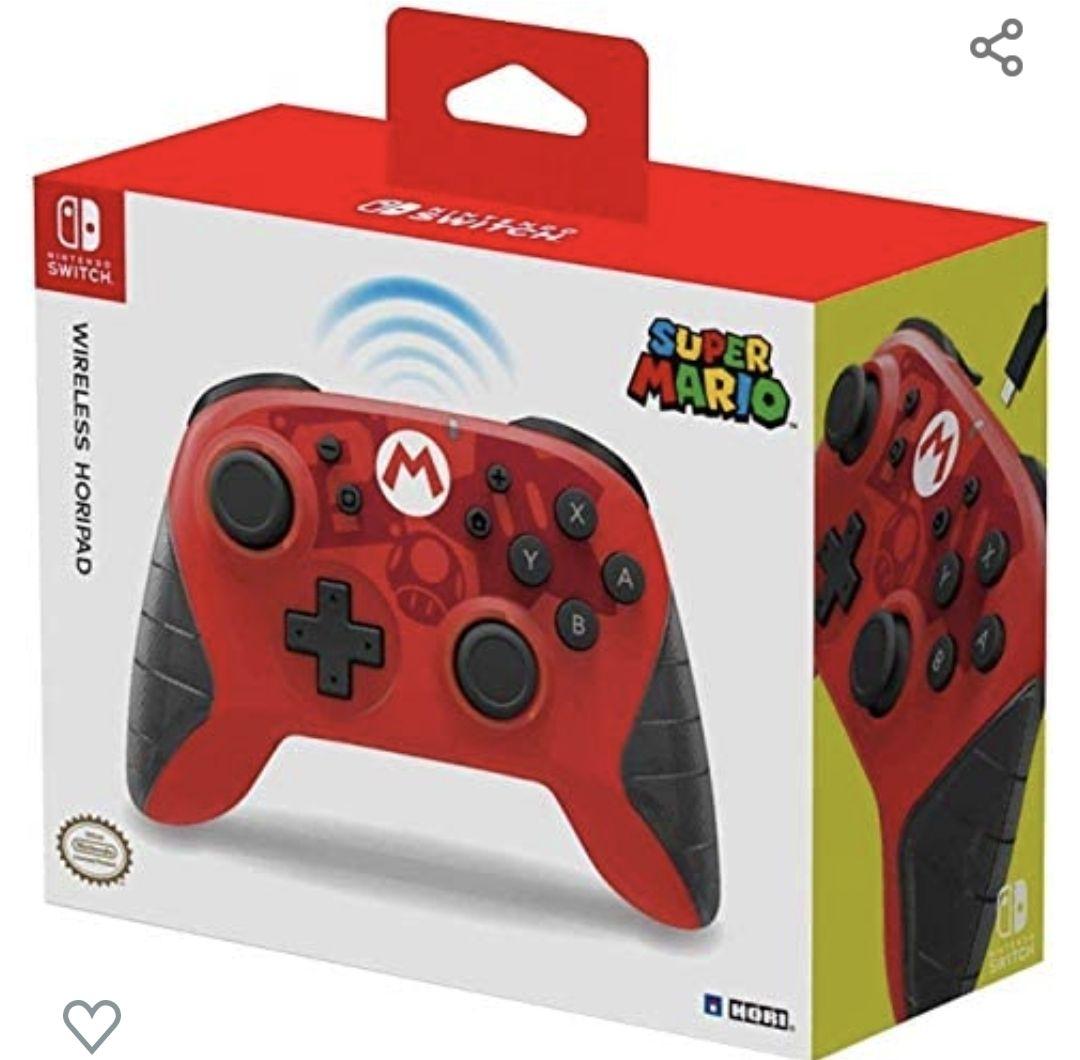 Horipad Wireless Mario edition voor Nintendo Switch