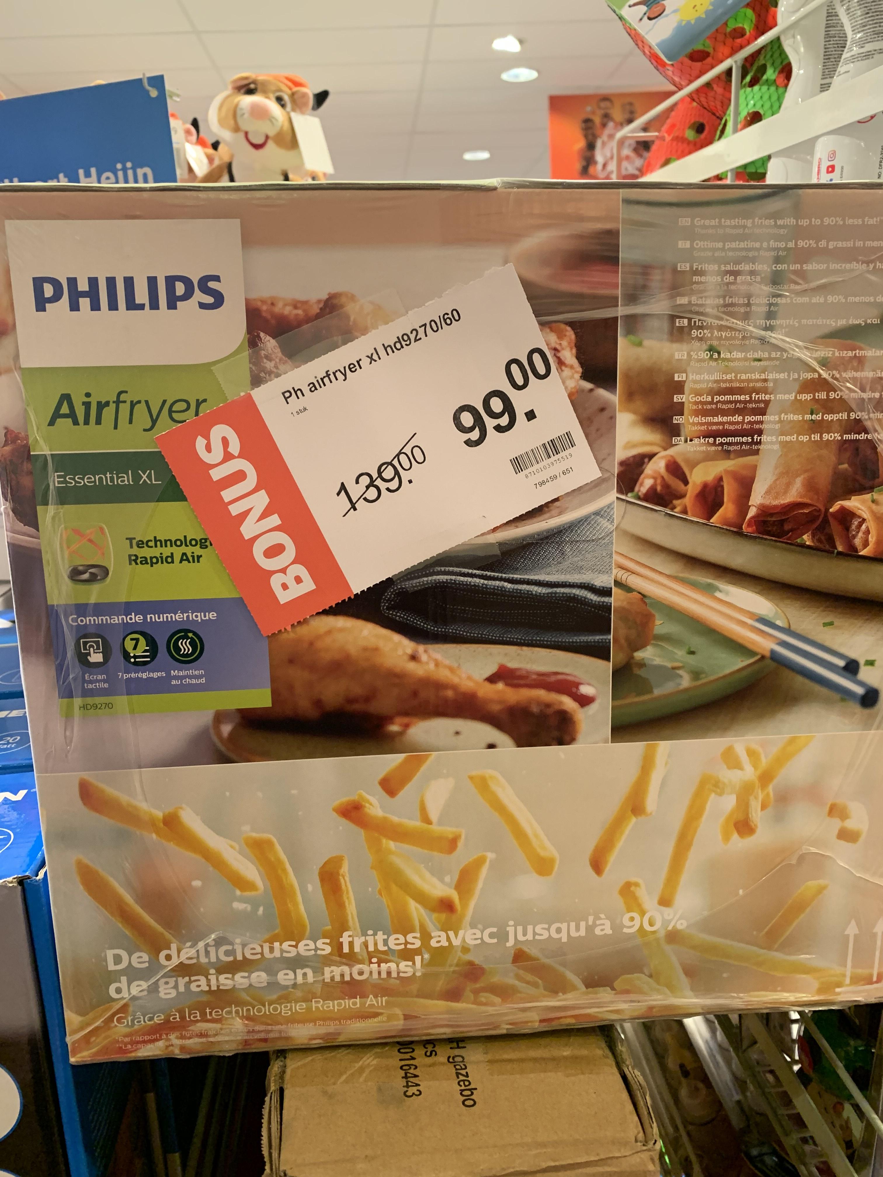 Philips Airfryer HD9270/60 €99 @Albert Heijn Arnhem
