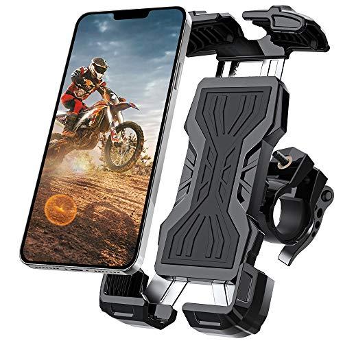 Telefoonhouder voor op de fiets/motor voor telefoons tussen 4,7 en 6,8 inch