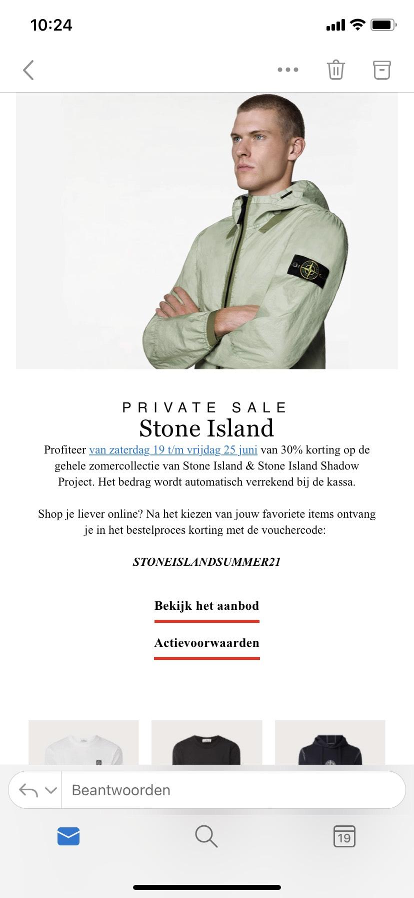 Stone island 30% Sale