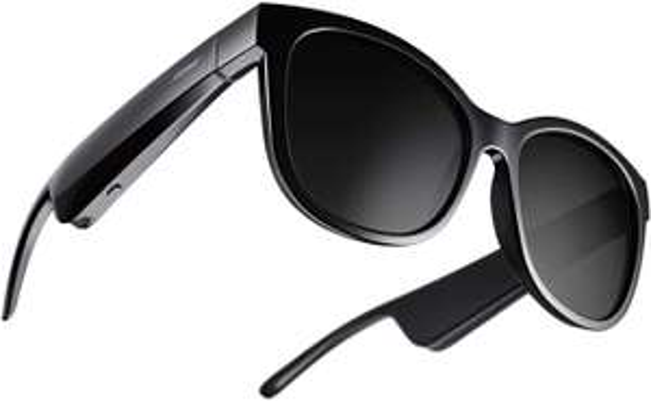 Bose Frames Soprano – Cat eye Bluetooth sunglasses with polarized lenses – Black