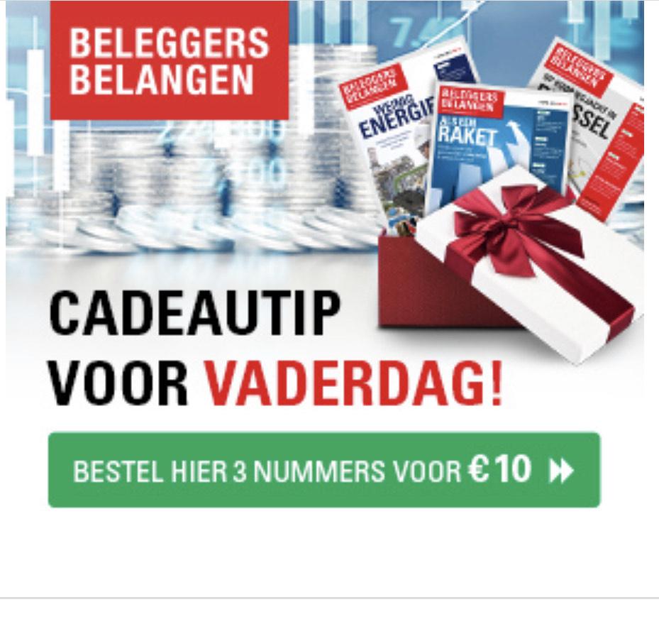 3 nummers Beleggers Belangen voor € 10