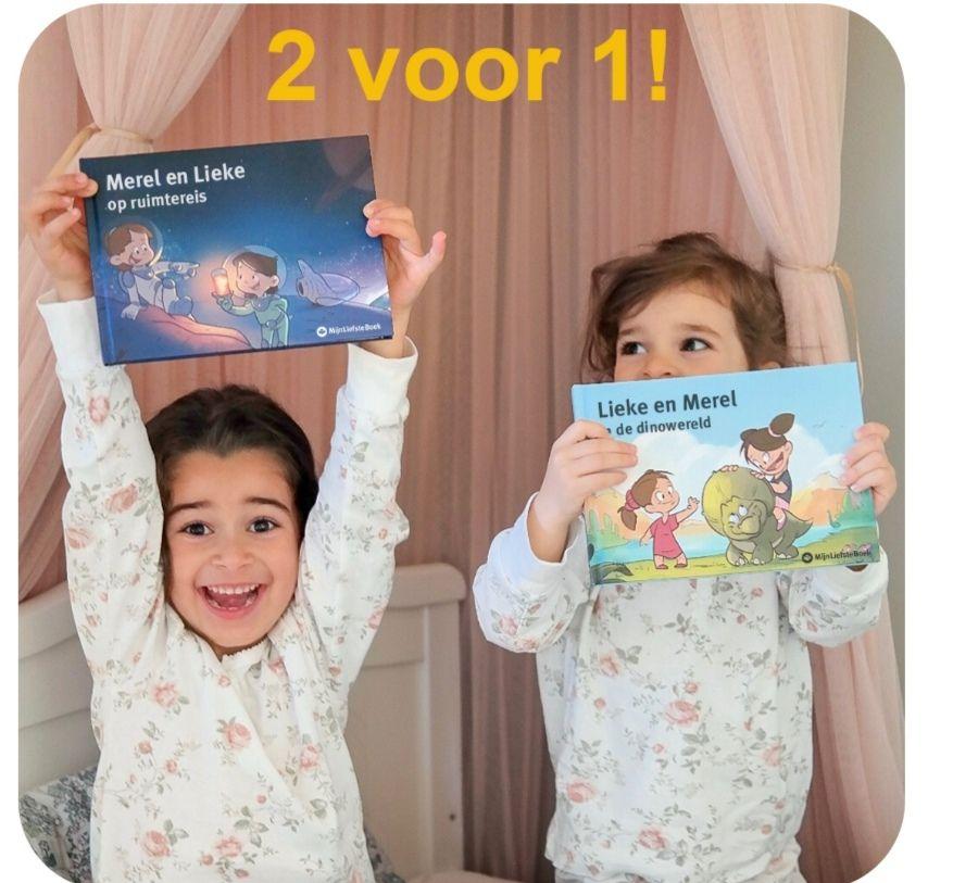 24 uur lang 2e gepersonaliseerde boek gratis!