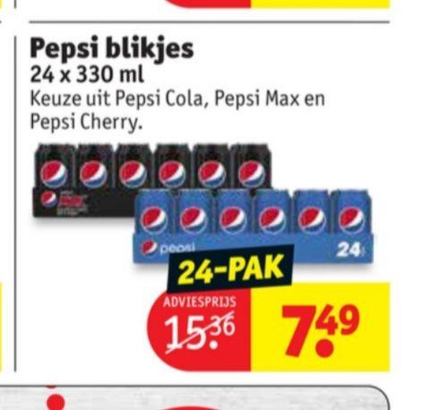 Tray Pepsi 24 x 330ml