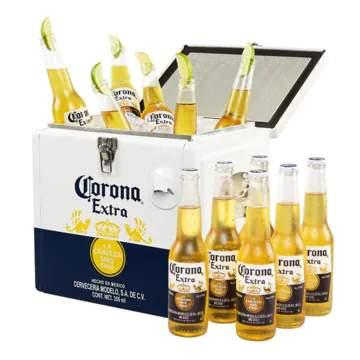 Corona Coolbox Inclusief 2 x 6 Packs bier