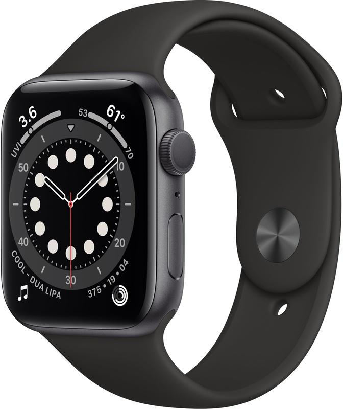 [PRIMEDAY] Apple Watch Series 6 (44mm) Grijs (Zwart) @ amazon.nl