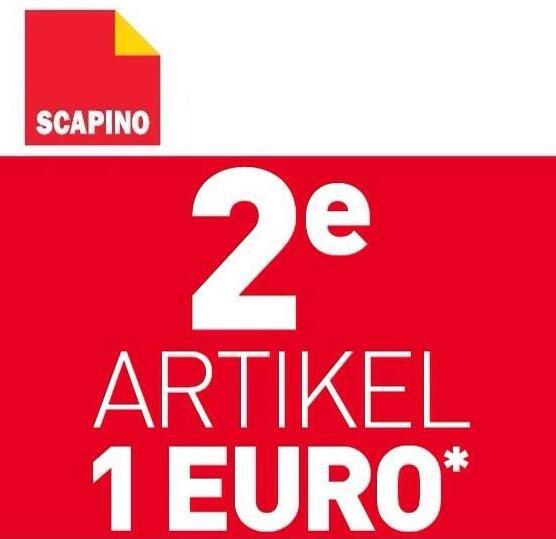 Sale + 2e artikel €1 op geselecteerde producten @ Scapino