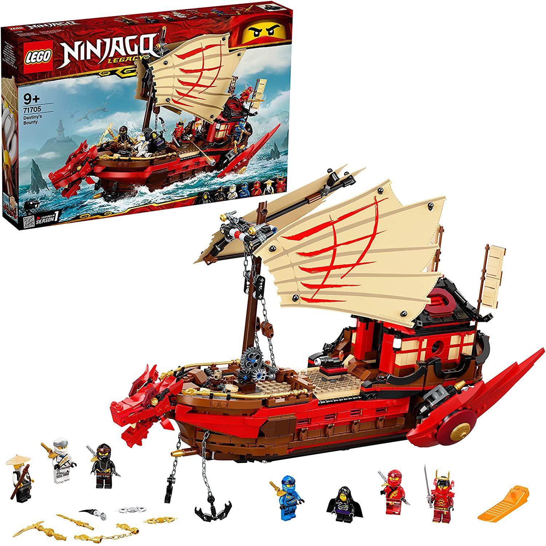 Lego Ninjago Legacy Destiny's Bounty 71705