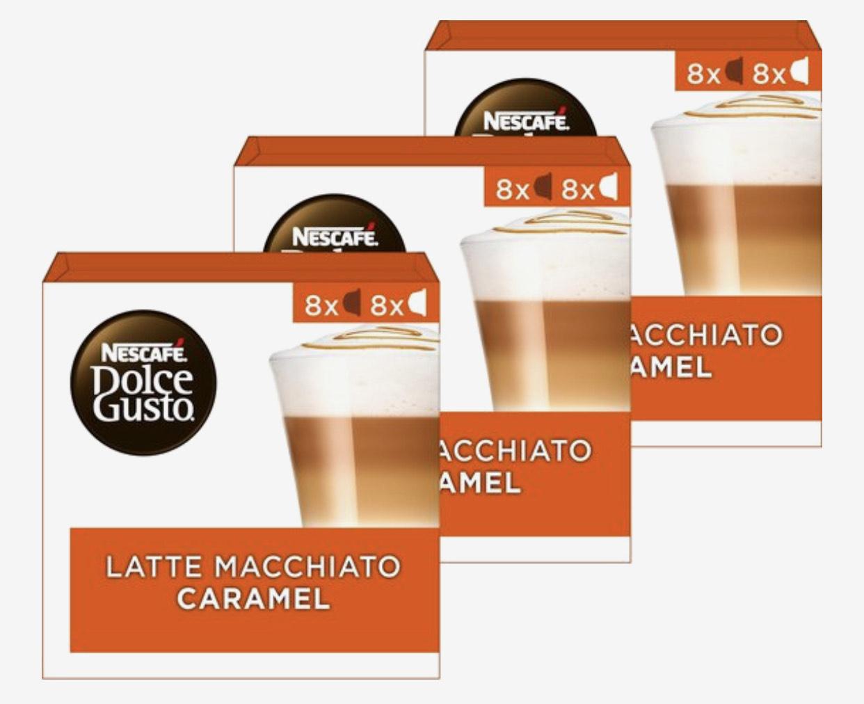 Verschillende Dolce Gusto cups in de aanbieding