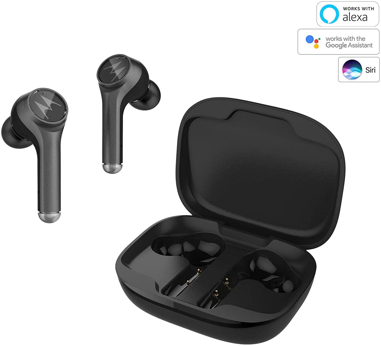 Motorola Vervebuds 800 - Bluetooth in-ear hoofdtelefoon - True Wireless - Zwart
