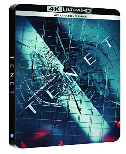 TENET Limited Edition Steelbook 4K UltraHD Bluray + Bonus @ Amazon FR (Prime)