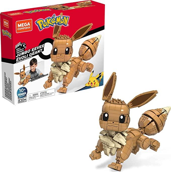 Prime Mega Construx Pokémon Jumbo Eevee bij Amazon.nl
