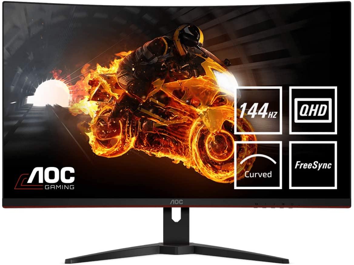 Aoc Gaming Curved Monitor CQ32G1 (31.5 Inch 2560X1440@144 Hz, 1 Ms, Free-Sync)