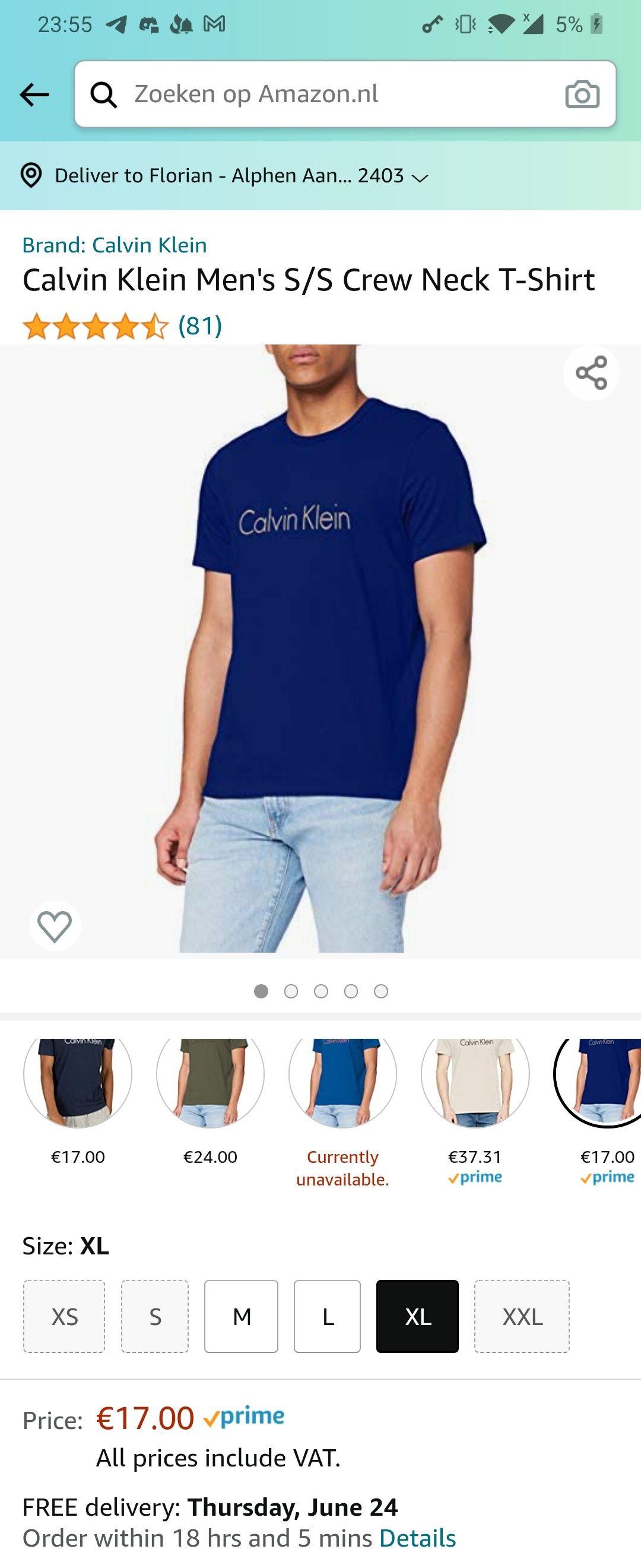 [Prime] Calvin klein t-shirts