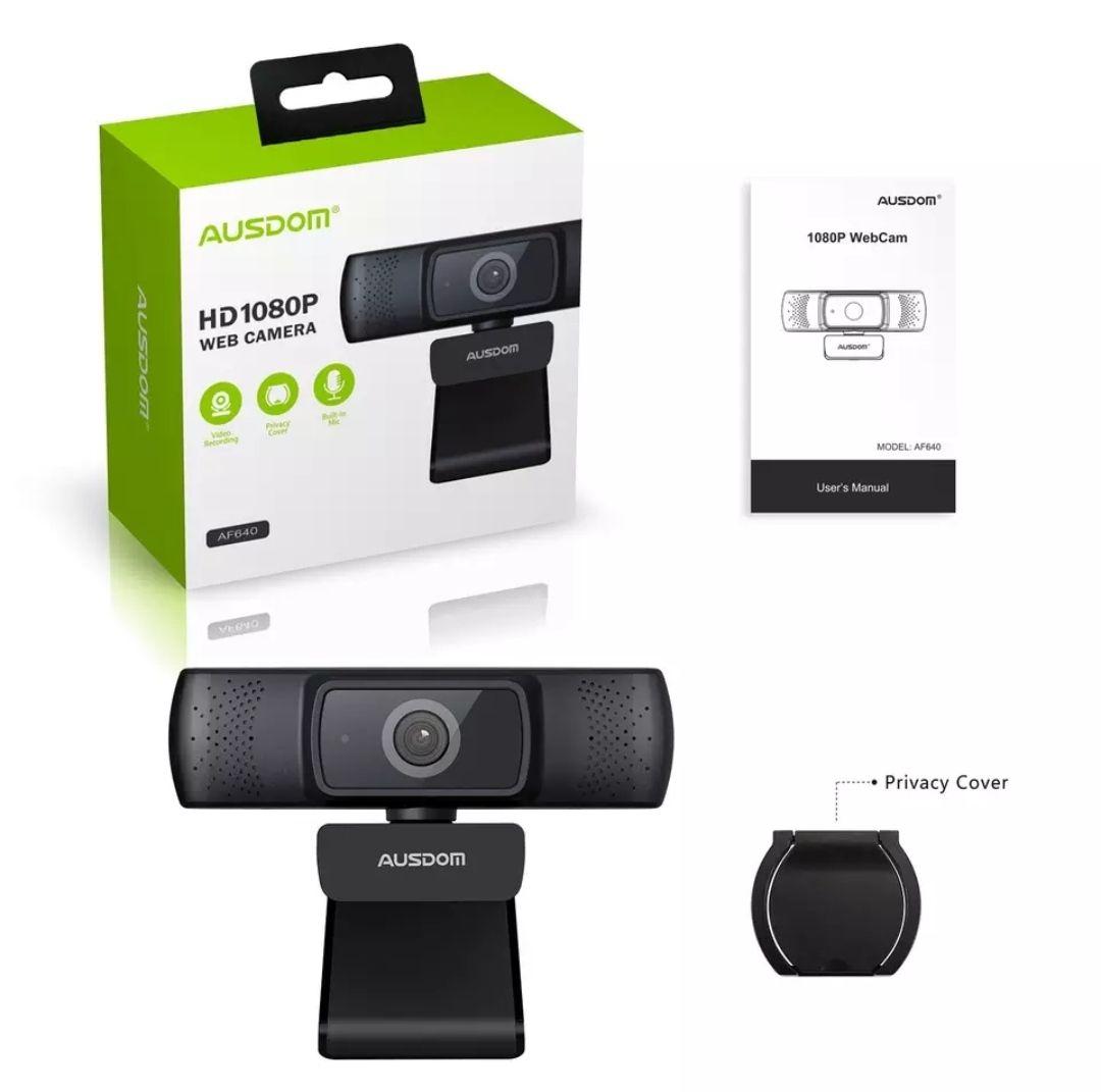 Ausdom AF640 1080P Autofocus webcam