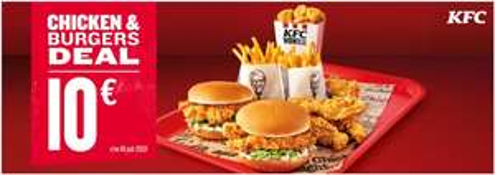 KFC Chicken & Burger Deal