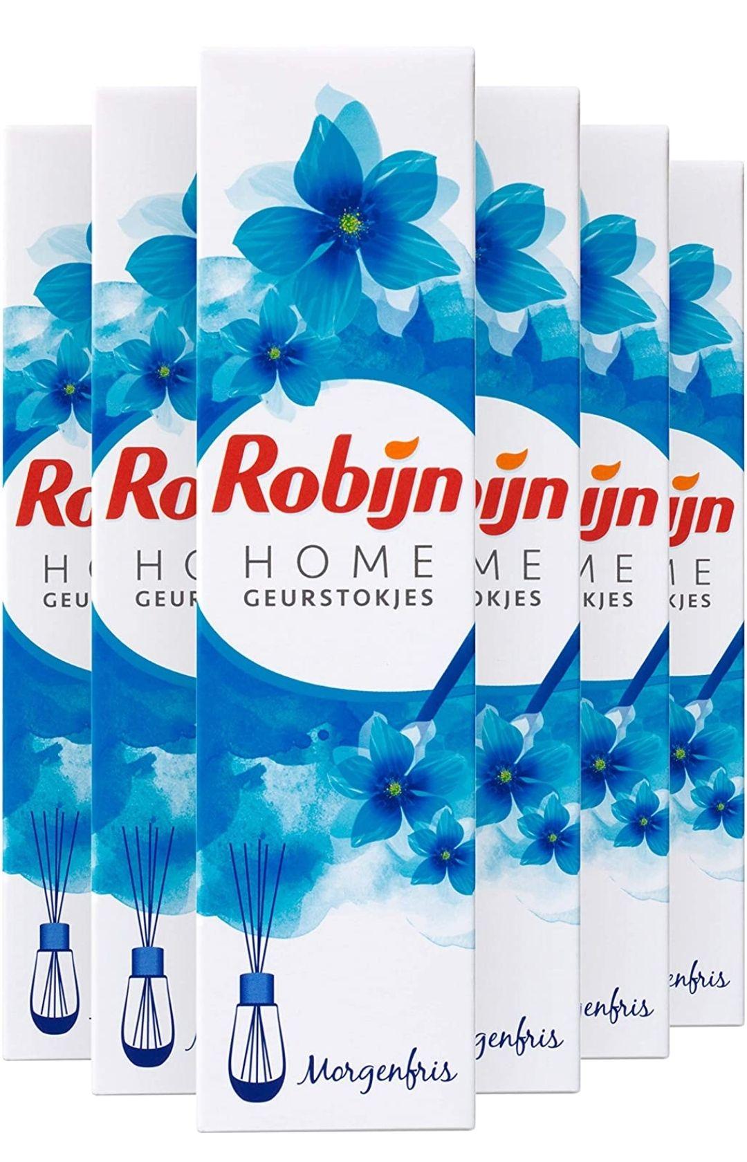 (prime) Robijn Home Geurstokjes Morgenfris