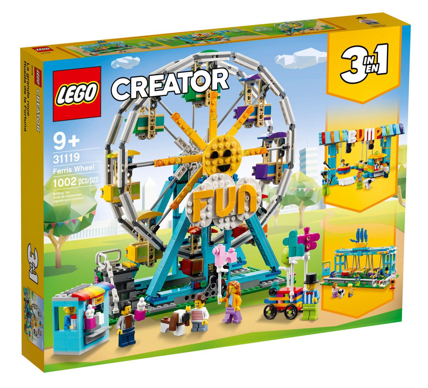 Lego Creator 3 in 1 Reuzenrad (31119)