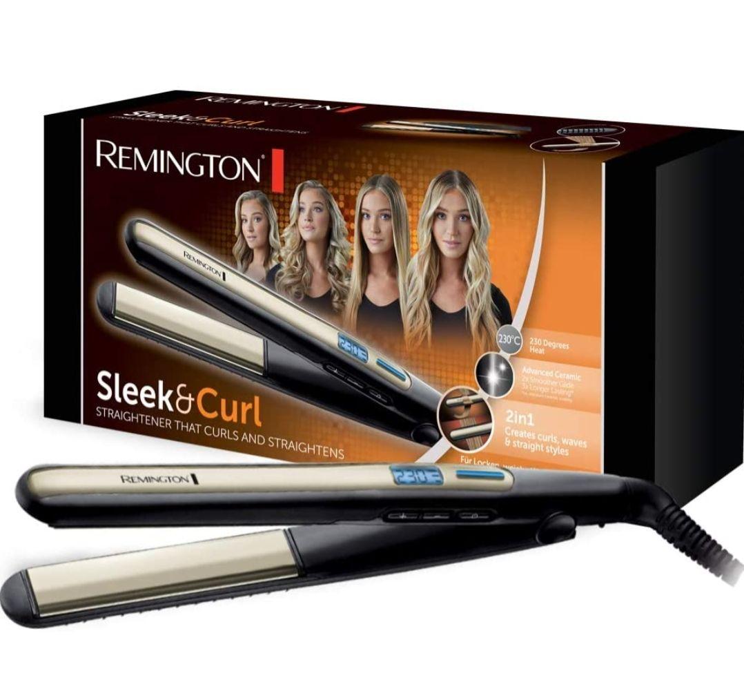 Prime aanbieding Remington S6500 Stijltang, Keramische Coating, LCD Scherm, 150-230 C, Zwart