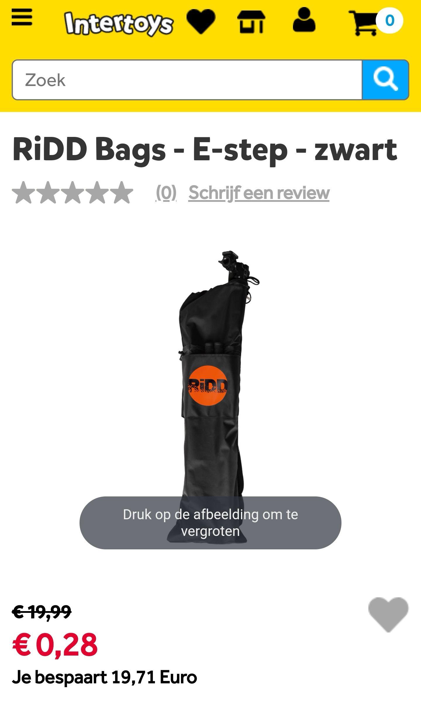 RiDD Bags - E-step - zwart