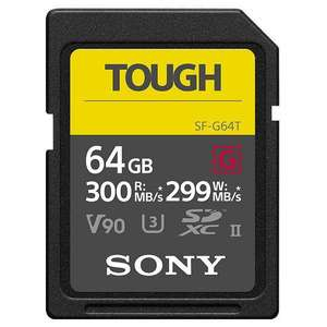 Sony SF-G64T SD-Geheugenkaart (64 GB, UHS-II, V90)