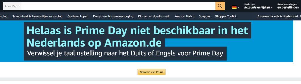 Hoe word je prime-lid van de Duitse Amazon?
