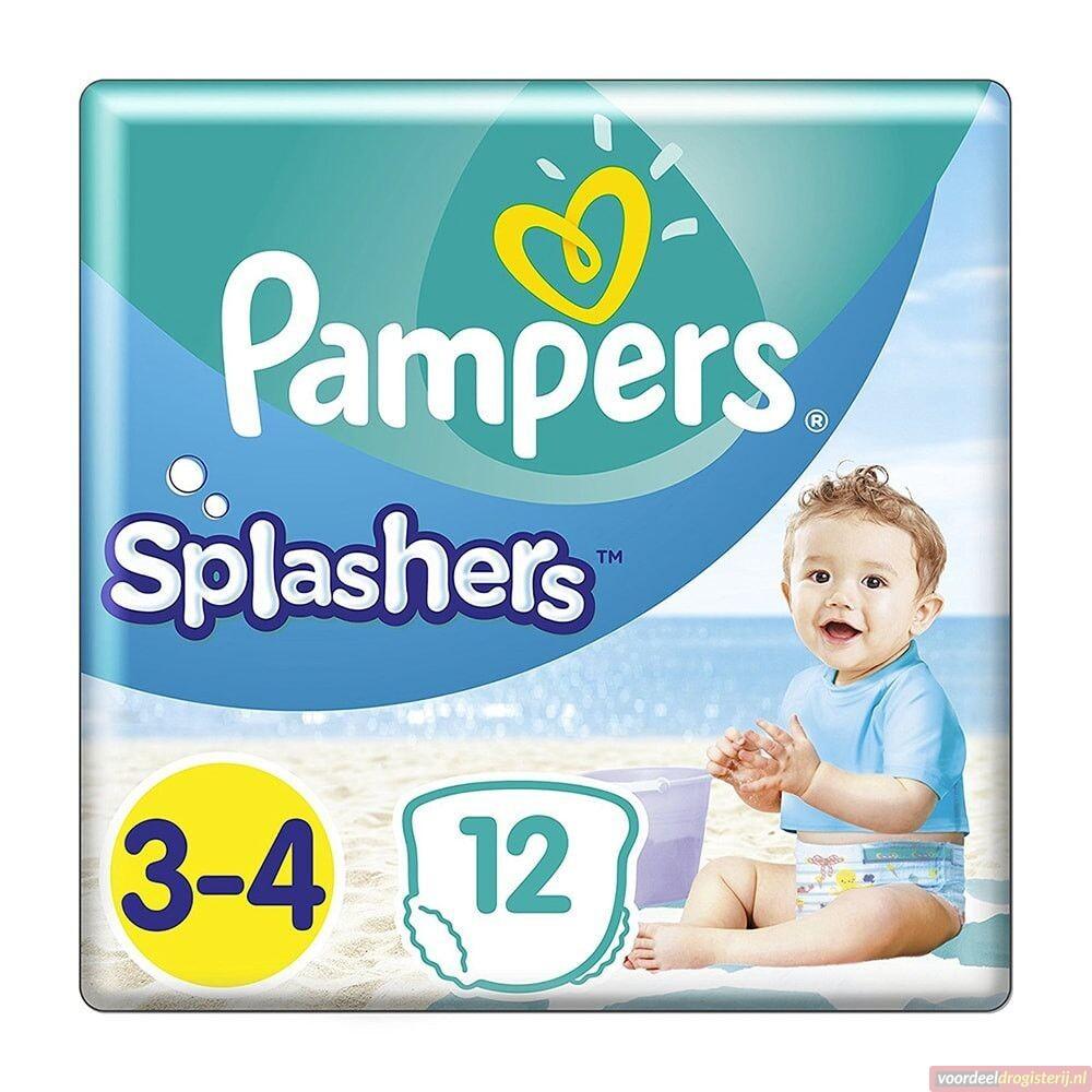 Pampers Splashers zwembroekjes aanbieding