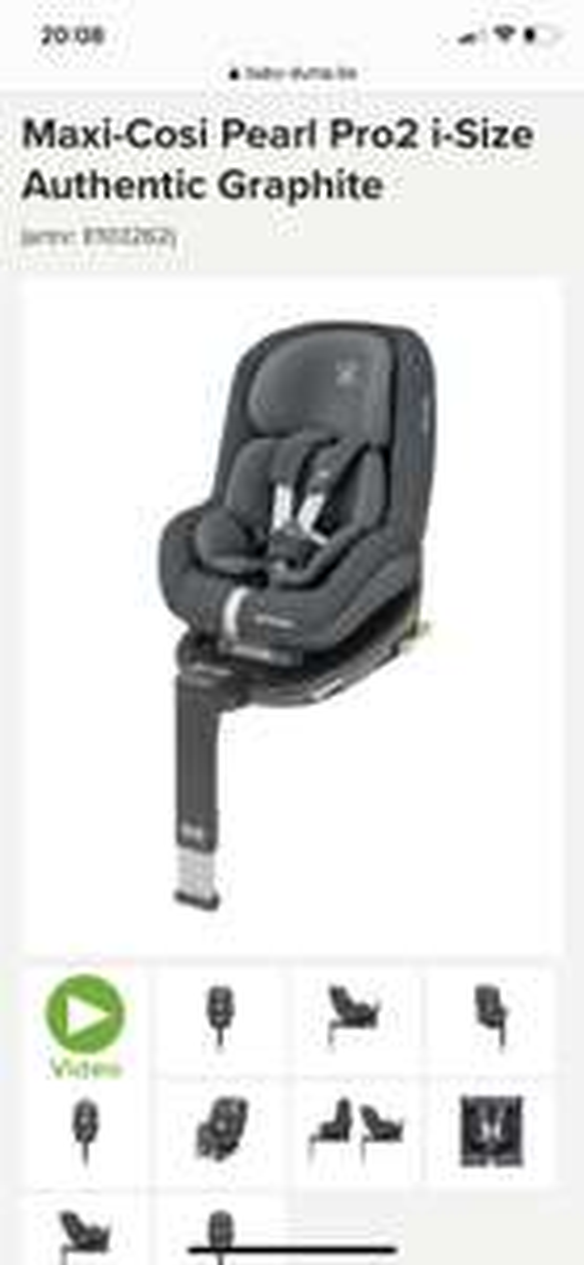 Autostoeltje Maxi Cosi Pearl Pro 2