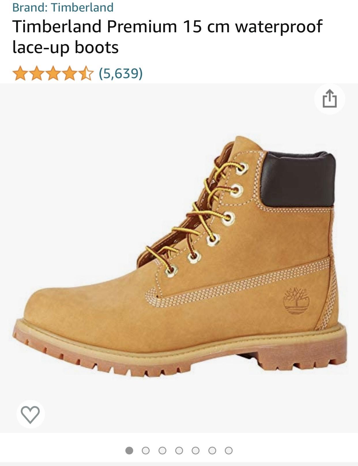 Timberland Premium Boots Dames