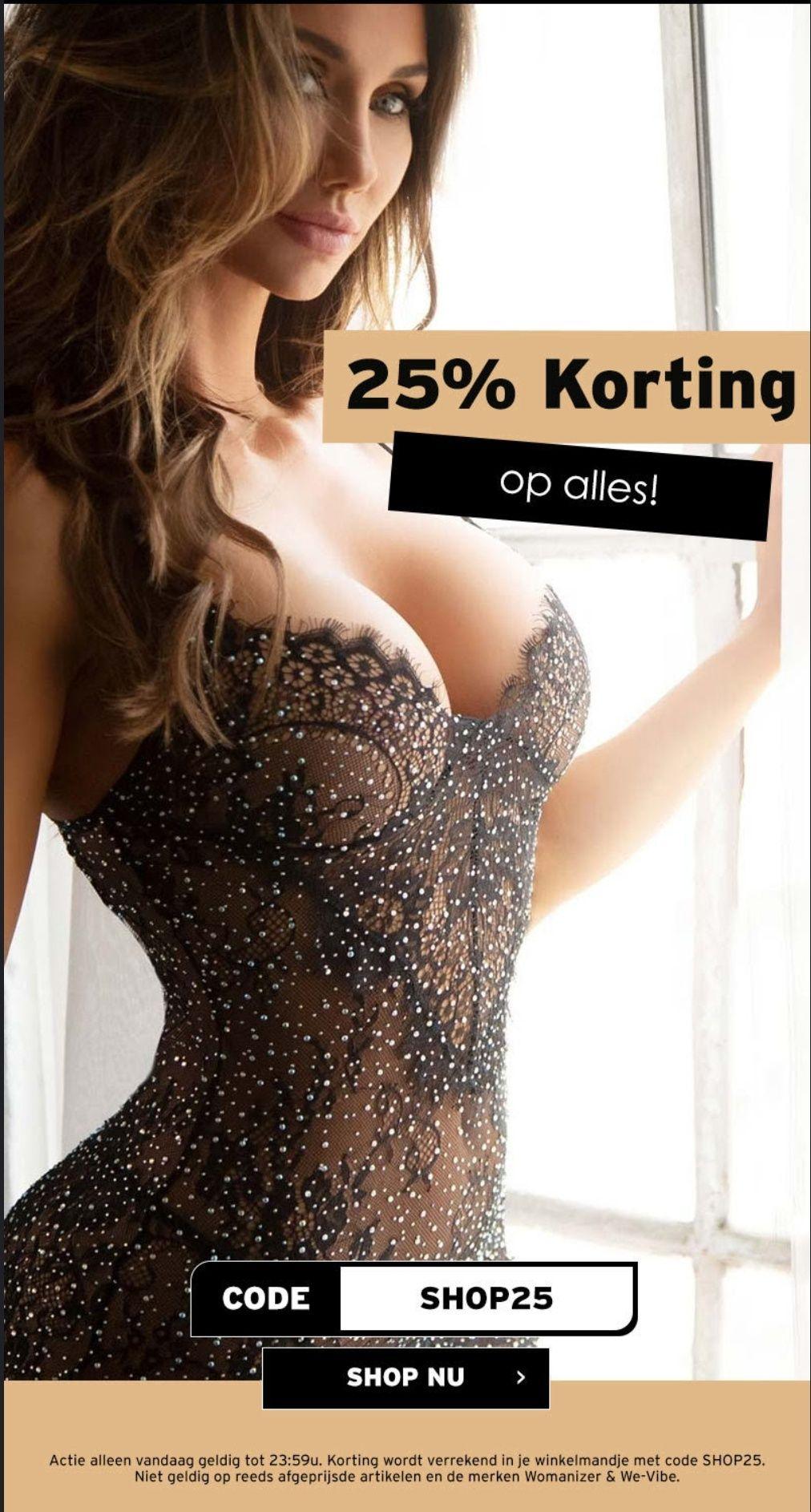 25% korting op alles bij Christine le Duc