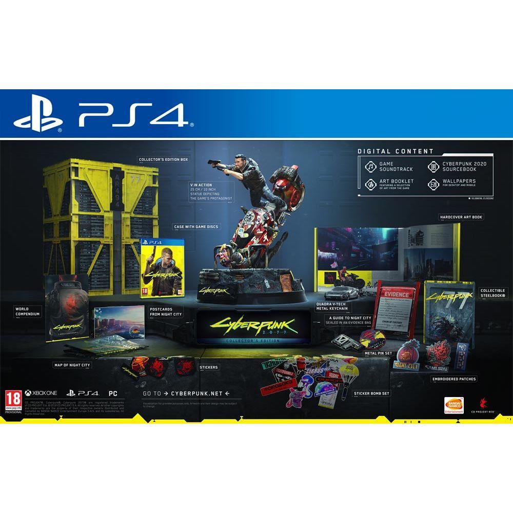 Cyberpunk 2077 - Collector's Edition (PS4, Xbox en PC)