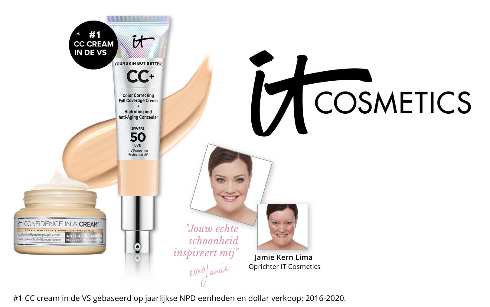 Vraag je gratis Its CC cream foundation sample aan